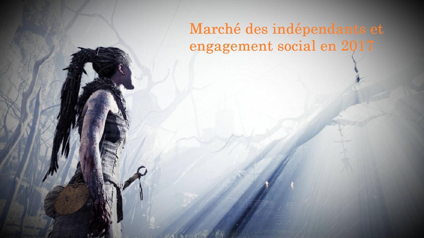 Marché des indépendants et engagement social en 2017