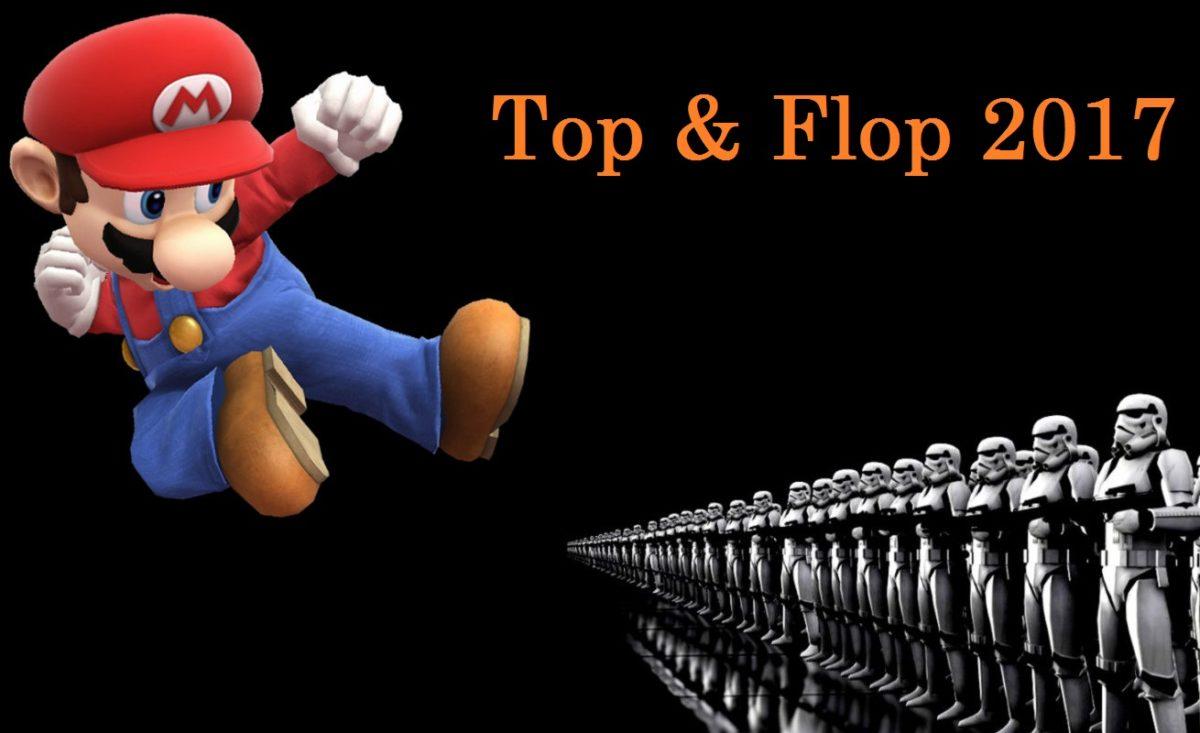 Top et Flop 2017 de l'industrie du jeu vidéo